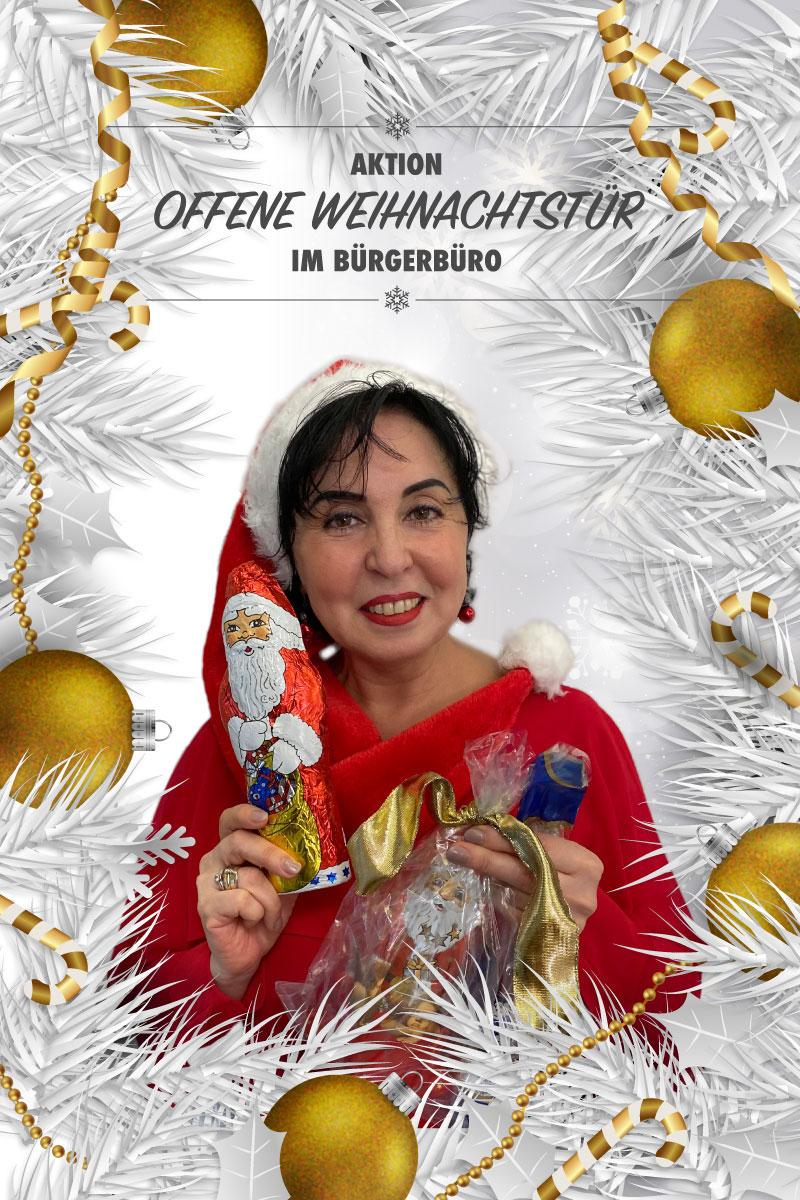 Offene Weihnachtstür 2020